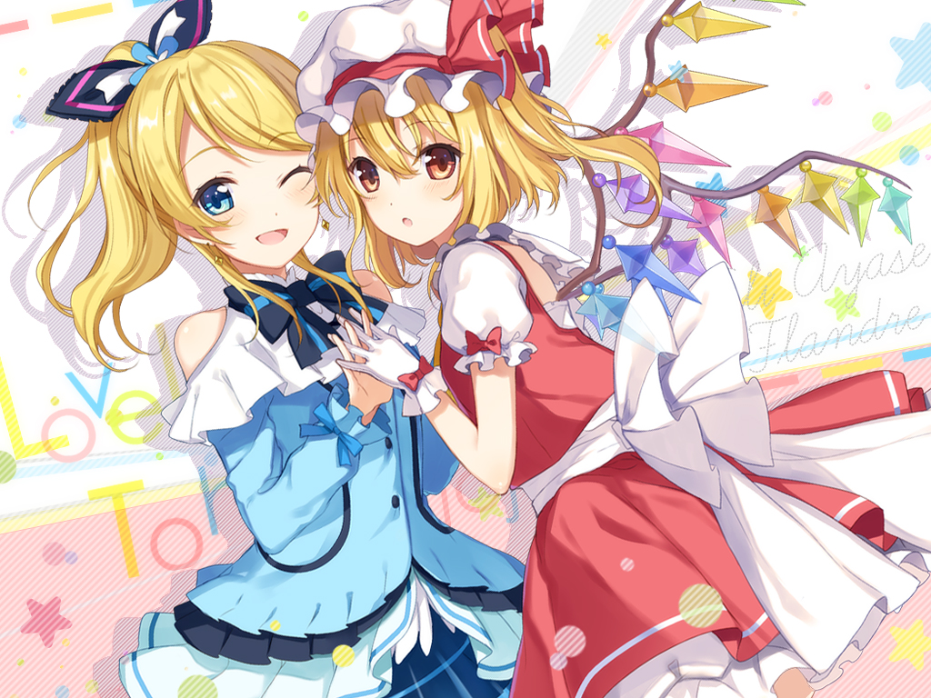 __ayase_eli_and_flandre_scarlet_love_live_school_idol_project_and_etc_drawn_by_6.jpg